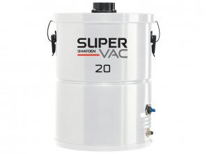 Central vacuum 20 Super Vac Hayden with bag