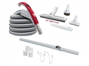 """Attachment kit 24V with Nordik brush 12"""" (30.5 cm) with wheels"""
