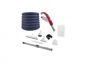 "Attachment kit with Retraflex retractable hose - Super Luxe brush 12"" (30.5 cm)"