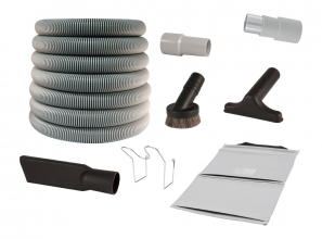 Heavy duty air attachment kit for car detailing - no switch -  dia. 1 1/2