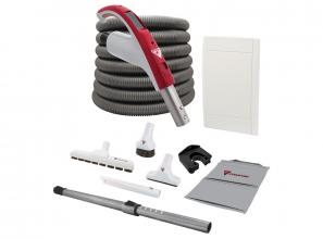 Cyclo Vac Attachment kit with Retraflex retractable hose - Standard handle