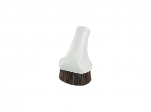 """Oval dusting brush (generic) - 3 1/2"""" (9 cm) - with Super Luxe brush 12"""" (30.5 cm)"""