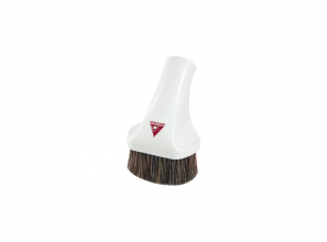 """Oval dusting brush - 3 1/2"""" (9 cm) - with Super Luxe brush 12"""" (30.5 cm)"""