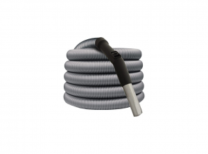 Hose with air flow control and friction fit handle - 35' (10.67 m) - dia. 1 1/4