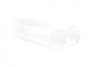Clear PVC pipe - 8'