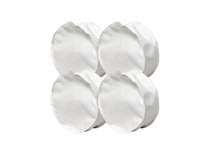 Compact electrostatic filter bag (generic) - 3 notches - set of 4