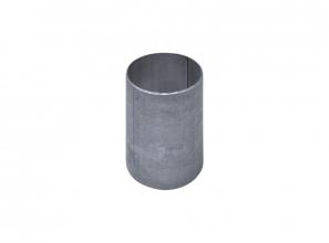 Slip coupling metal pipe fitting