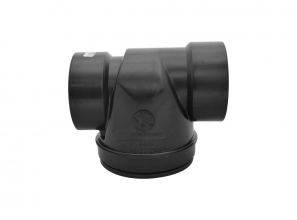 """Backwater valve (non-return valve) for Wave wet and dry system - ABS - 3"""" (7.62 cm)"""
