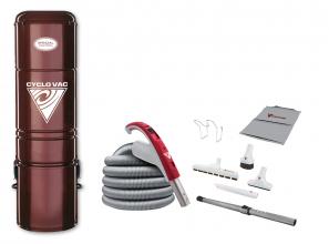 Aspirateur central Édition Spéciale H225 avec ensemble d'accessoires 35'