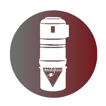 Icône d'un aspirateur central
