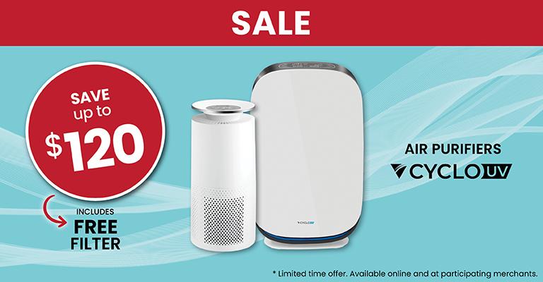 Air purifier Promo